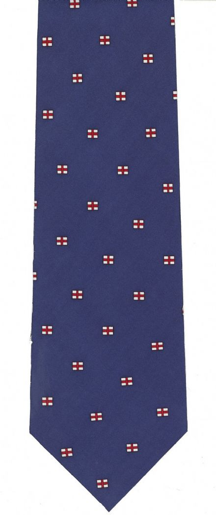 St George Cross Silk Tie